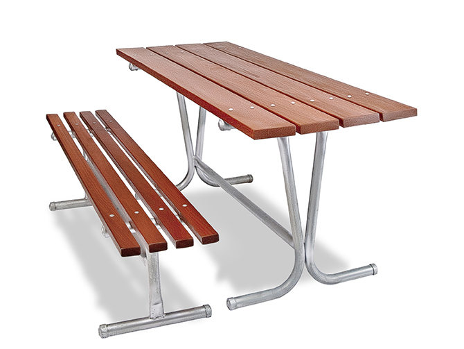 Parkland Table and Bench