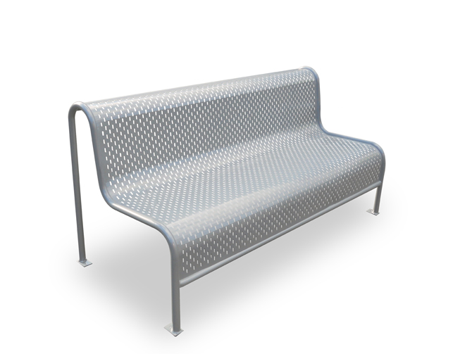 Perforated Steel Seat