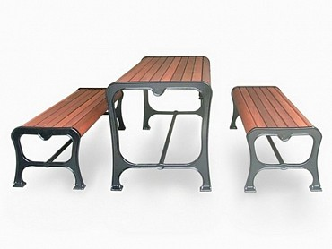 Boulevarde Table with Bench option