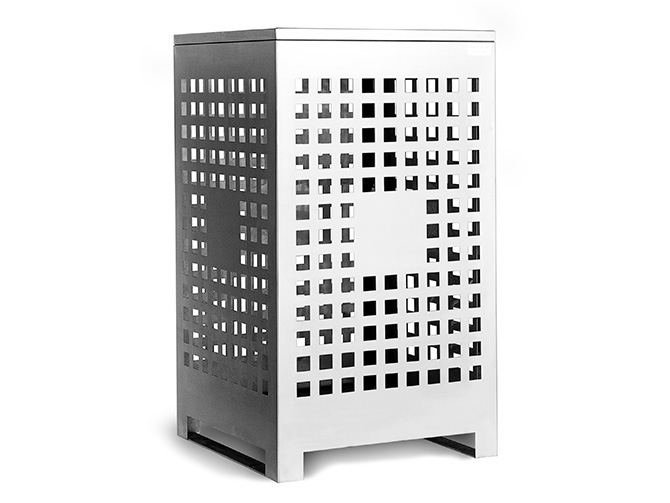 Emerdyn Bin Enclosure - Stainless Steel
