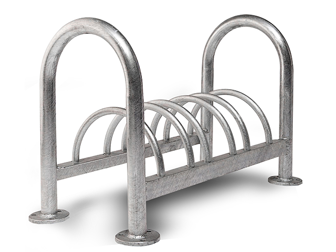 Bike Racks 4, 6 and 9 park Options
