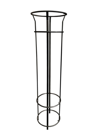 EM460-1800-Black Bennelong Tree Guard - 1800mm T 4 Pales, Powdercoated.jpg