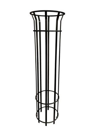 EM462-1800-Black Bennelong Tree Guard - 1800mm T with 8 Pales, Powdercoated.jpg