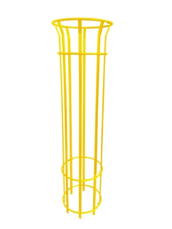 EM462-1800-Yellow Bennelong Tree Guard - 1800mm T with 8 Pales Powder Coated.jpg