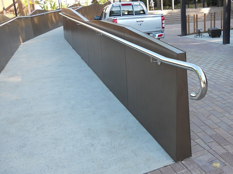 Handrails, Wollongong University